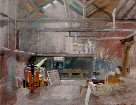 Interior of Titian's Studio, Venice