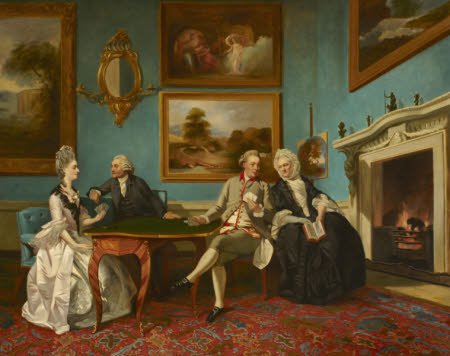 The Dutton Family (Jane Bond, Mrs James Lenox Dutton (c.1712-1776), James Lenox Dutton (c.1713 ...