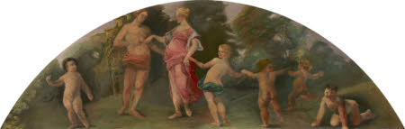 Couple with Five Dancing Putti