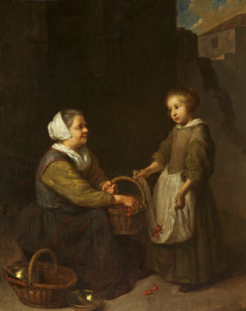 Cherrywoman with a Child