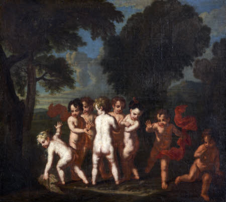 Putti at Play: Le jeu de l'anguille (after Louis Testelin)