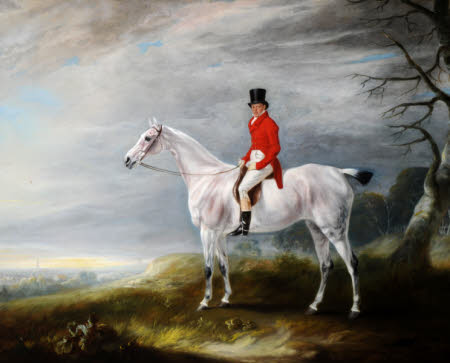 William Rutson (1791-1867) on a Grey Hunter