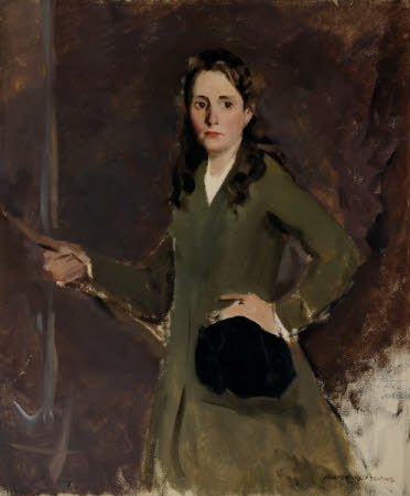 Kathleen (Kay) Elizabeth Mary Cooper Abbs (1901 - 1974) in Riding Habit