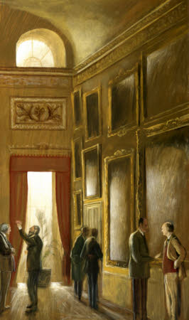 The Appraisal of the Trial Hang of the Paintings in the Saloon at Kingston Lacy, 1985