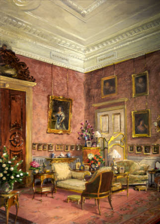 The Drawing Room at Kingston Lacy