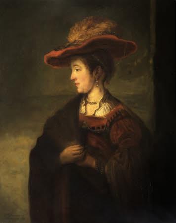 Saskia van Uylenburgh (1612-1642) (after Rembrandt)