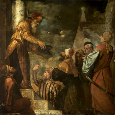 Lycurgus giving the Law to the People