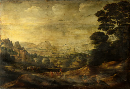 Landscape with Alexander and Diogenes