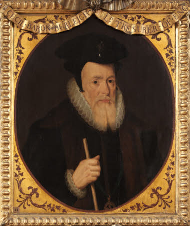 William Cecil, 1st Baron Burghley (1520-1598) (after Marcus Geeraerts the elder)