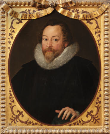 Sir Francis Drake (1540?-1596) (after Marcus Geeraerts, the younger)