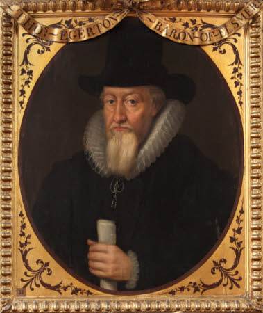 Sir Thomas Egerton, 1st Viscount Brackley (1540-1617)