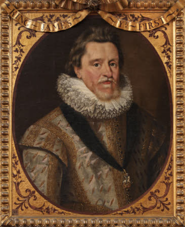 King James I (James VI of Scotland) (1566–1625) (after Cornelius Johnson)