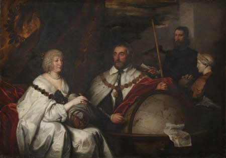 Thomas Howard, 2nd Earl of Arundel (1585-1646) and his Wife Lady Alethea Talbot, Countess of ...
