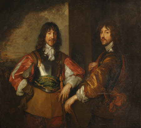 Mountjoy Blount, 1st Earl of Newport (1597-1665) and Lord George Goring (1608-1657)