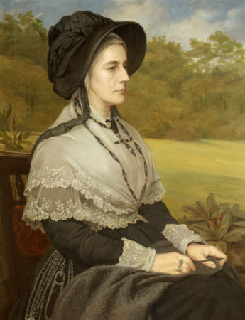 Matilda Blanche Crawley-Boevey, Mrs William Gibbs (1817 -1888)