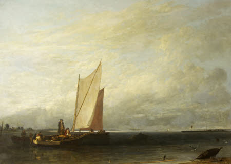 View of Southampton Water, Passage and Luggage Boats