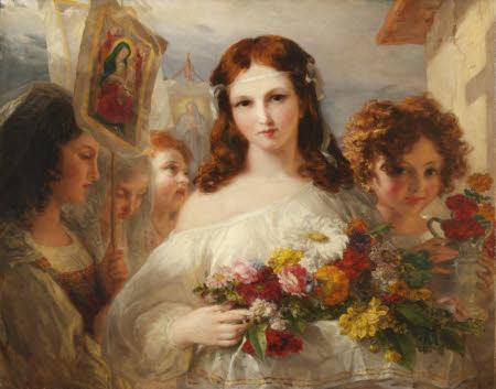 Flower Girls of Naples