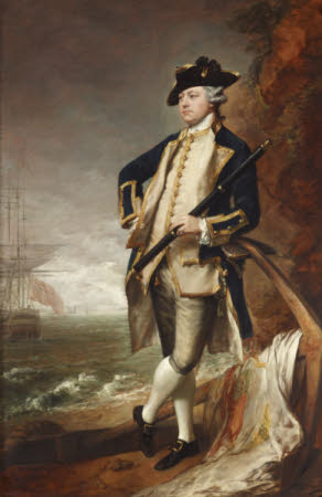 Commodore the Hon. Augustus Hervey, later Vice-Admiral, and 3rd Earl of Bristol (1724-1779)