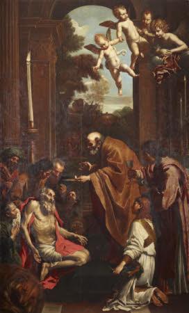 The Last Communion of Saint Jerome (after Domenico Zampieri Domenichino)