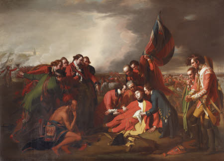 The Death of General James Wolfe (1727-1759)