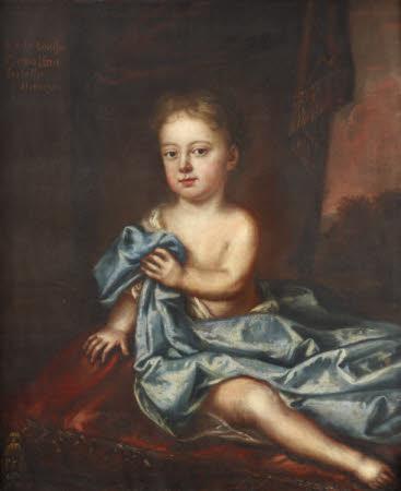 Lady Louisa Caroline Isabella Hervey, Lady Smyth (1715-1770) as a Child
