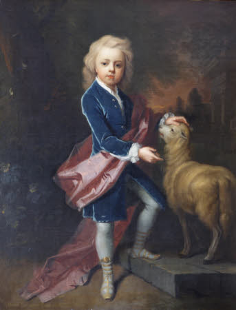 Henry Robartes, 3rd Earl of Radnor (c.1695-1741), aged 9