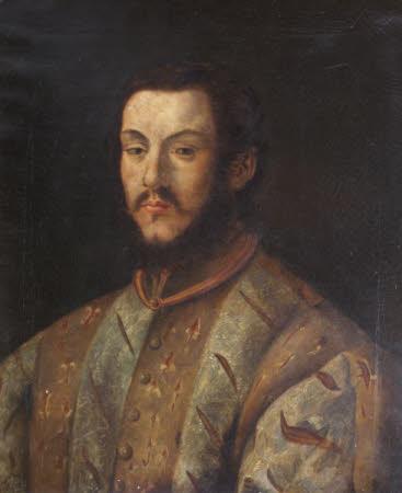 'A Dreadful Gentleman' (after an Italian 16th century portrait)