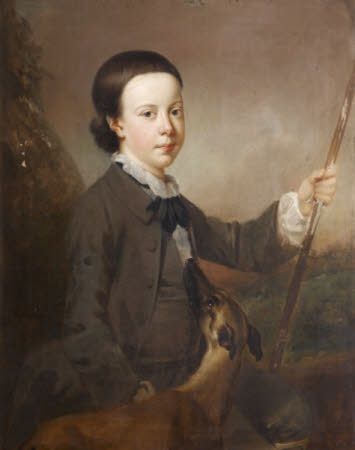 Sir Thomas Dyke Acland, 5th/9th Baronet of Columb-John (1752 - 1794) as a Boy