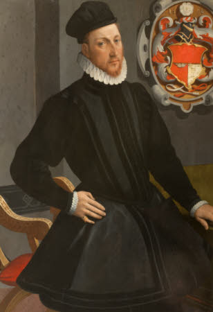 An Unknown Gentleman, called Henry Stuart, Lord Darnley (1545–1567), but possibly John Astley ...