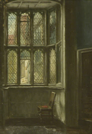 A Bay Window with Mullion and Transom Light, Knole