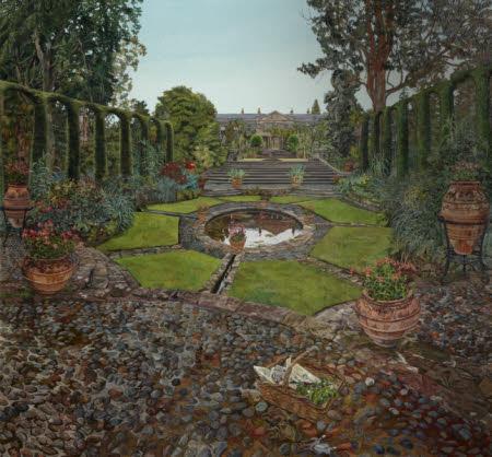 The Spanish Garden, Mount Stewart, Co. Down