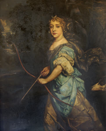 Queen Mary II (1662–1694), when Princess Mary of York, as Diana