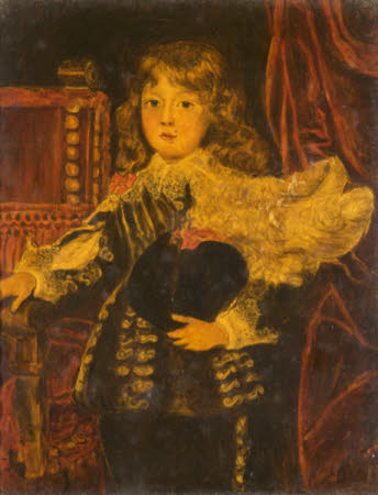Alessandro Farnese (1635-1689) as a Boy (after Sustermans)