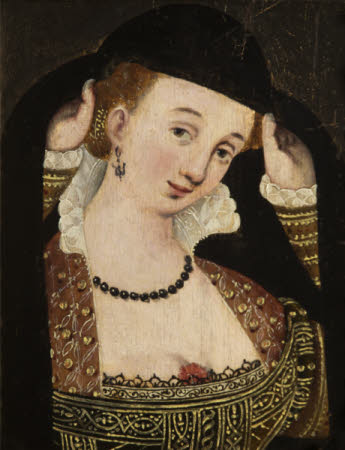 An Unknown French Courtesan (copy of a 16th century orginal)