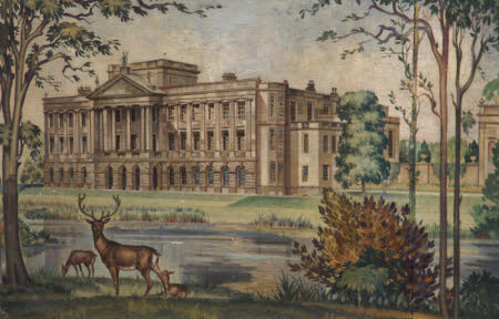 A View of Lyme Hall