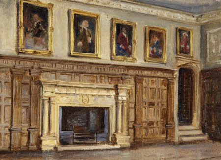 The Great Hall Fireplace, Montacute House
