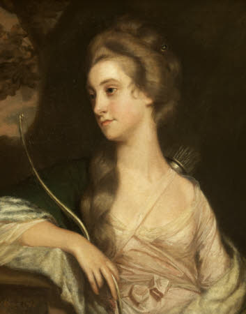 Elizabeth Phelips (1750 - 1841), as Diana the Huntress