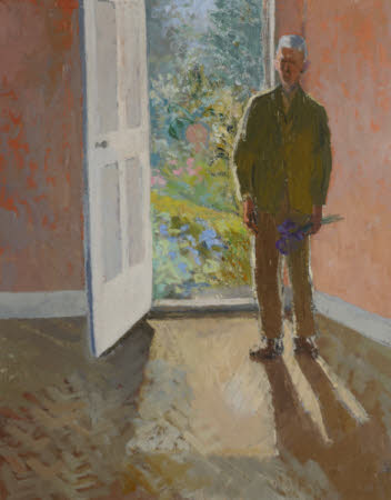 Leonard Sidney Woolf (1880-1969) in the Doorway