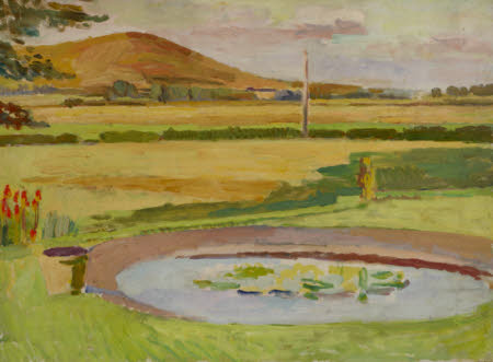 The Pond, Monk's House Garden, Rodmell