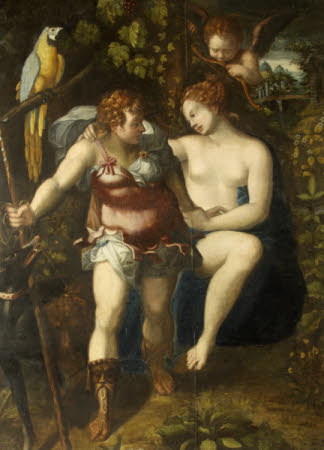 Venus and Adonis (after North Italian School)