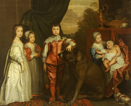 The Five Eldest Children of King Charles I