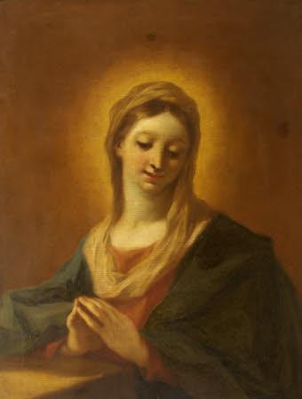 The Virgin Mary at Prayer