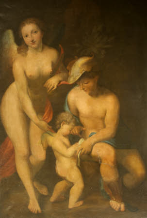 Venus with Mercury and Cupid ('The School of Love') (after Correggio)