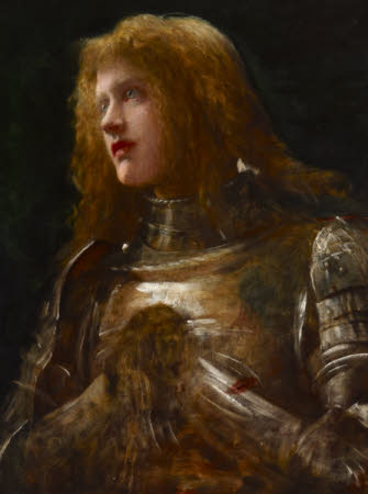 'Watchman, What of the Night?'  (Dame Ellen Terry [1847-1928] and previously called Joan of Arc by ...