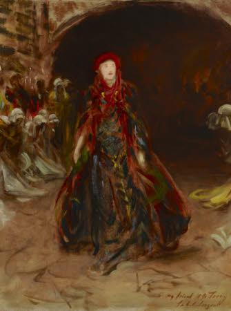 Dame Ellen Terry (1847-1928) as Lady Macbeth in William Shakespeare's 'Macbeth'