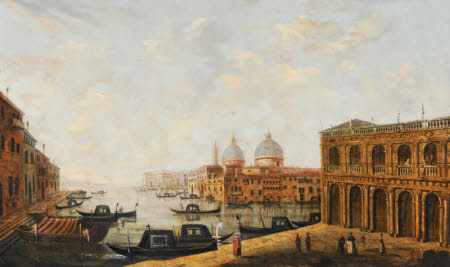 A View of Venice looking towards the Lagoon