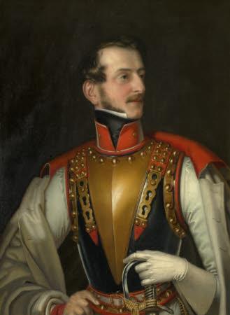 Charles Bedingfeld (1803-1870) in the Uniform of the 16th Austrian Cuirassiers