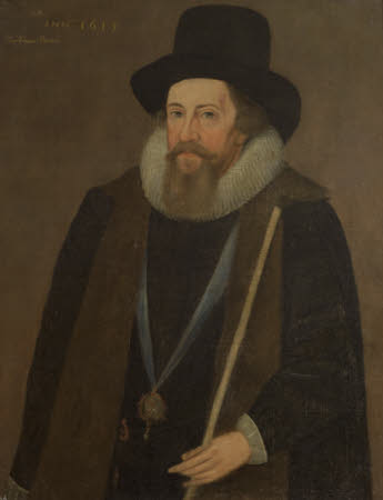 An Unknown Man, called Francis Bacon, 1st Viscount St Alban (1561-1626)
