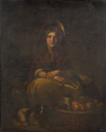 A Young Female Fruit-seller