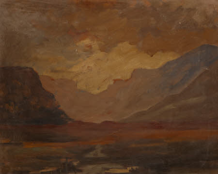 Mountainous Landscape with Loch